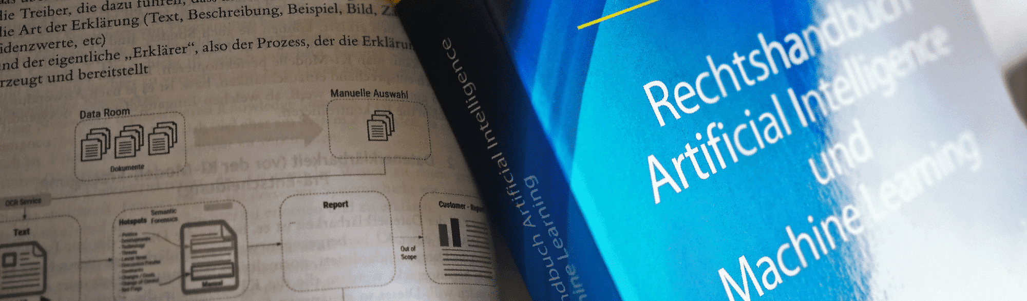 """Das Artikelbild zu dem Blogbeitrag """"Buchkapitel im Rechtshandbuch Artificial Intelligence"""""""